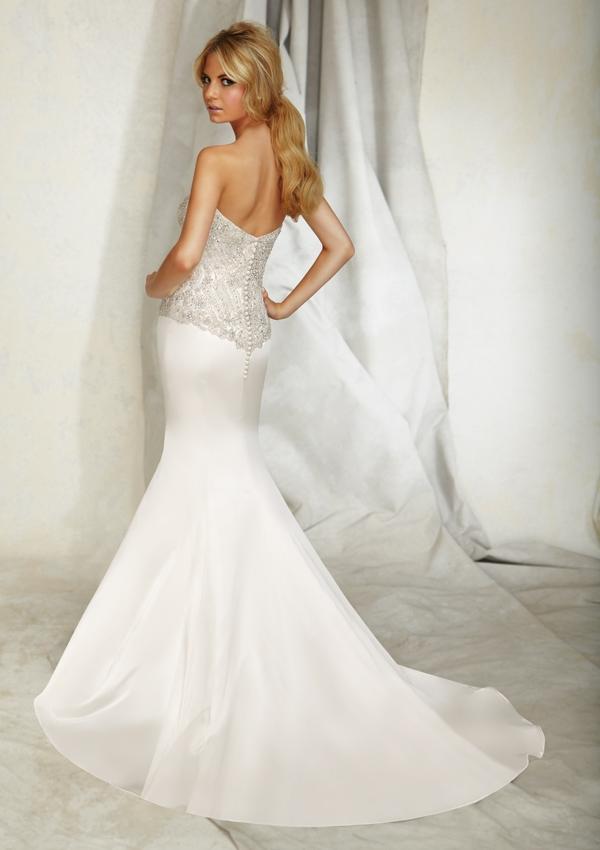 Wedding Dresses For   Sunshine Coast : Style lustrous satin sunshine coast wedding dresses