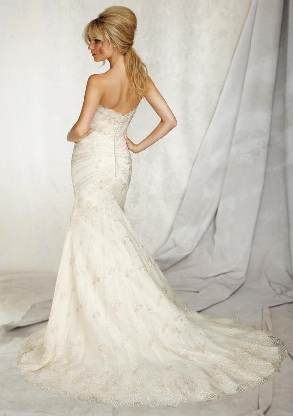 Wedding Dresses For   Sunshine Coast : Style embroidery on net sunshine coast wedding dresses