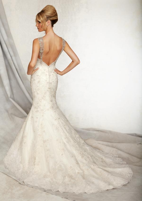 Wedding Dresses For   Sunshine Coast : Style alencon lace sunshine coast wedding dresses