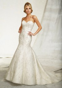 Style 1260 Embroidery on Net