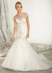 Style 1261 Embroidery on Net
