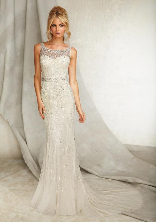 Wedding Dresses For   Sunshine Coast : Style silky net sunshine coast wedding dresses