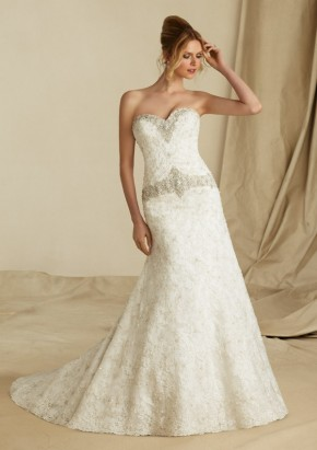 Style 1272 Venice Lace and Embroidery