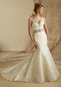 Style 1274 Embroidery on Net